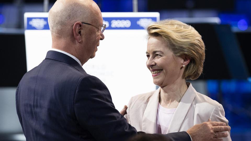 """EU-Chefin Ursula von der Leyen outet sich als Unterstützerin des """"Great Reset"""""""