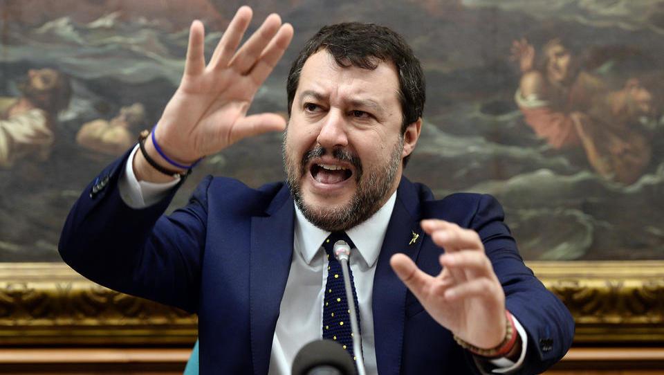 """Salvini dreht durch: """"Die EU ist eine Höhle von Schlangen und Schakalen"""""""
