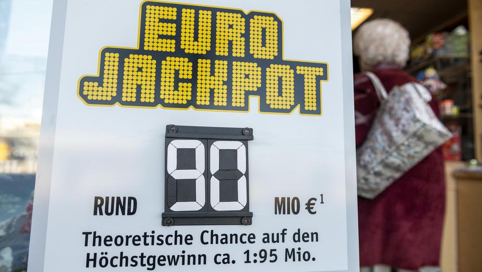 Ziehung am 1. Mai: Eurojackpot mit 90 Millionen Euro gefüllt