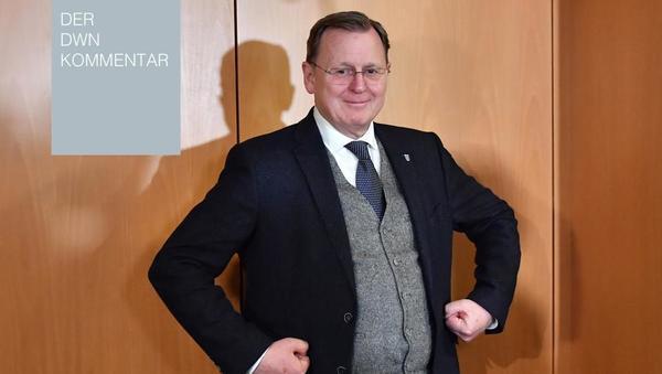 Bodo Ramelow: Ministerpräsident von Merkels Gnaden?