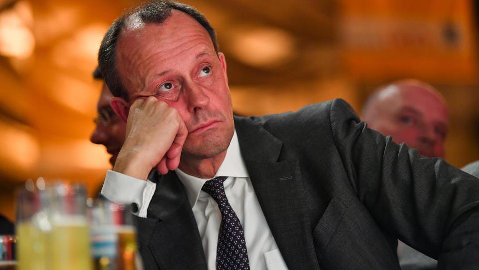"""Friedrich Merz in eigener Sache: """"Ich liege in den Umfragen zum Parteivorsitz deutlich vorn"""""""