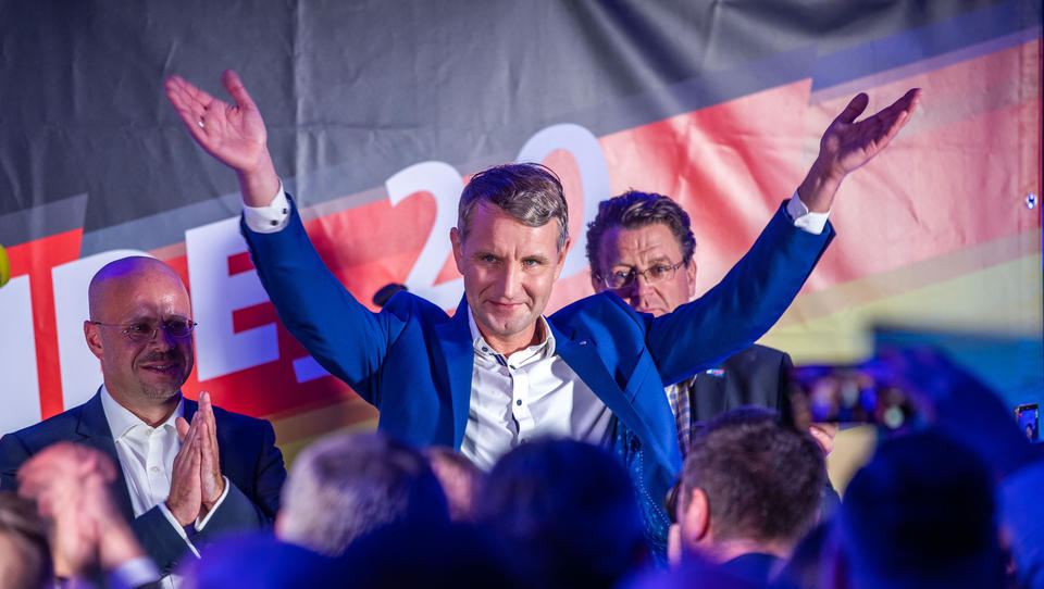 Gegen Ramelow: Thüringer AfD-Chef Höcke kandidiert bei Ministerpräsidentenwahl