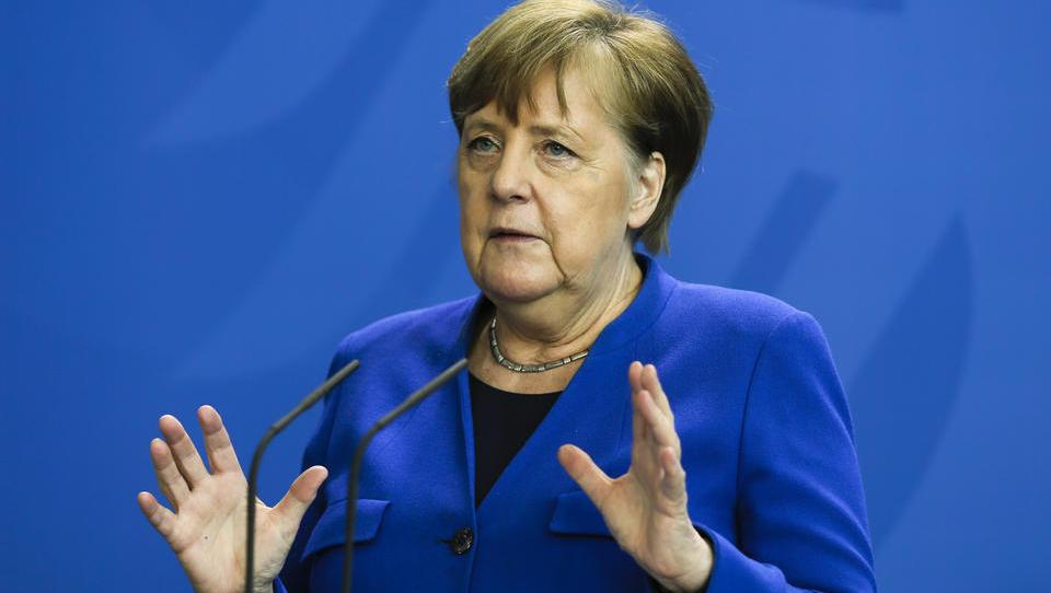 """Merkel zur Corona-Krise: """"Wir sind noch lange nicht über den Berg"""""""