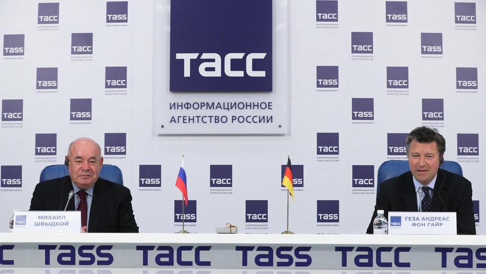 Per Facebook: Russisches Außenministerium bestellt deutschen Botschafter ein