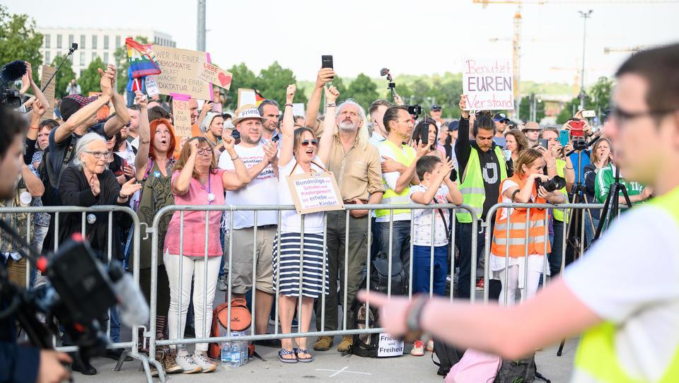 Am Samstag: Wieder Demonstrationen gegen Corona-Regeln