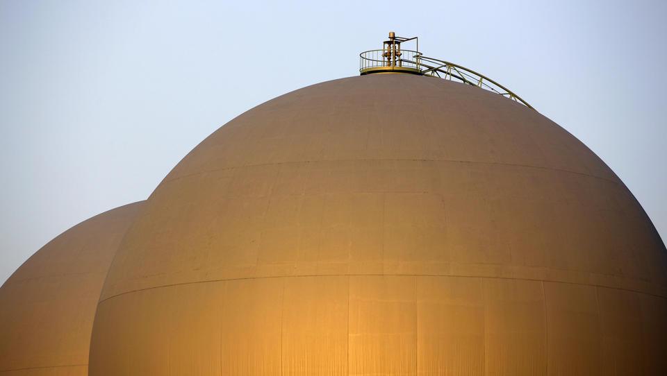 Deutschlands Erdgas-Vorräte sind derzeit ungewöhnlich niedrig - und sinken seit Tagen weiter