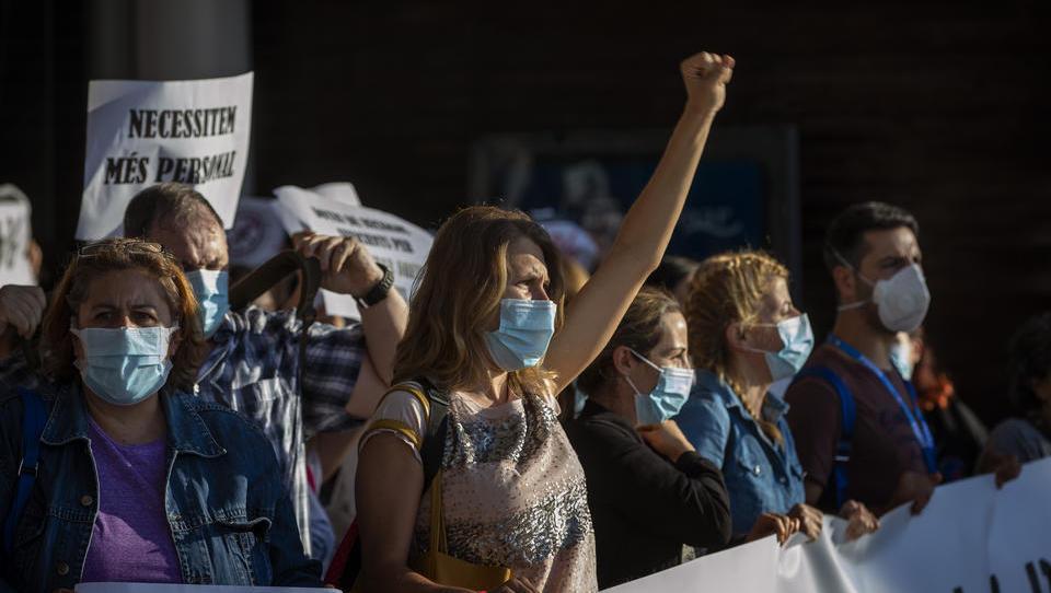 Corona-Proteste in Spanien stehen vor Eskalation