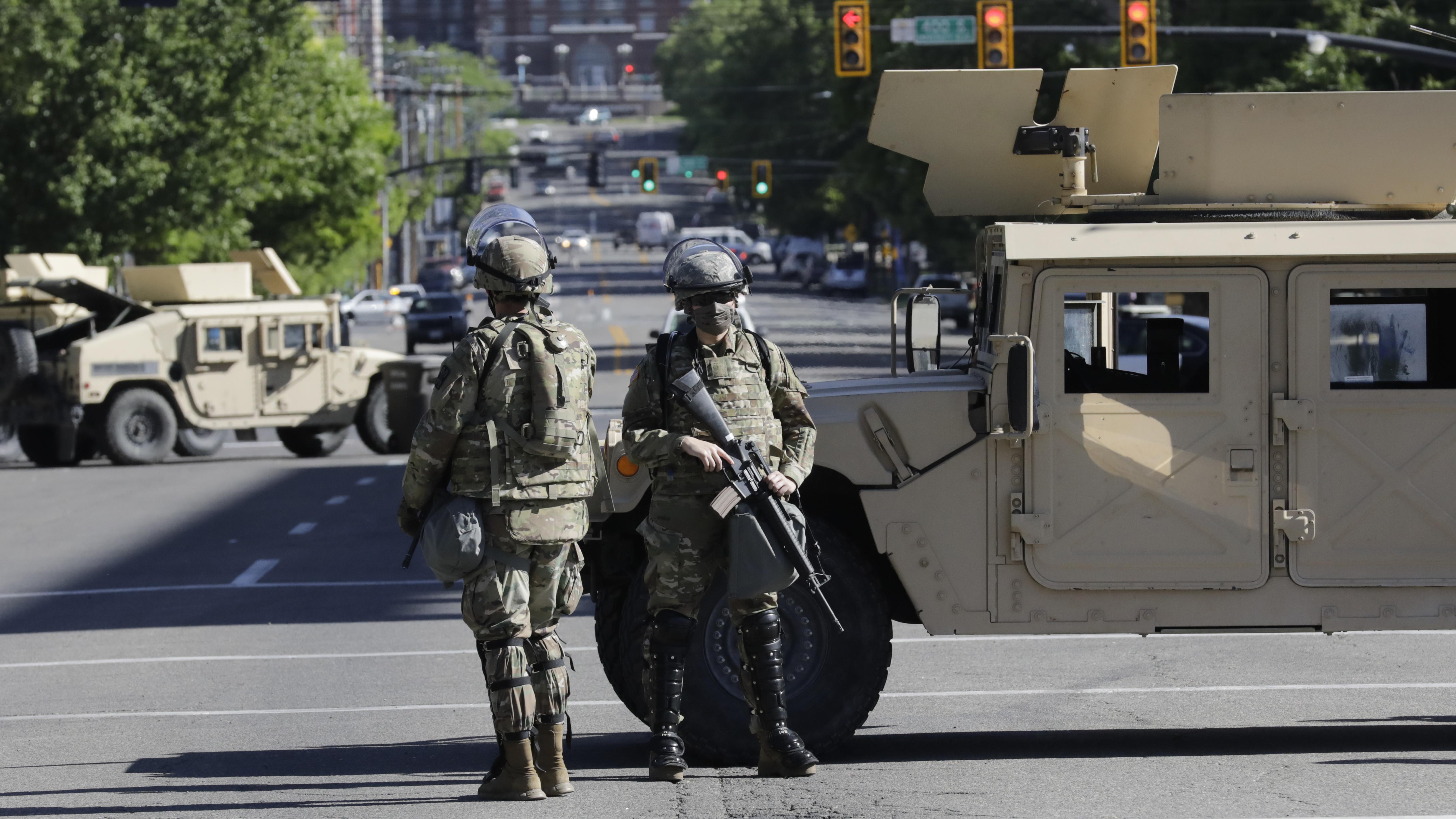 Militäreinsatz im Inland: Pentagon erteilt Trump eine Absage