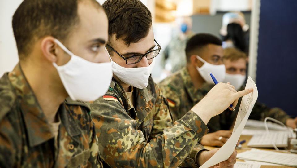 Corona-Infektion bei Bundeswehr: Auch Zivilisten werden getestet
