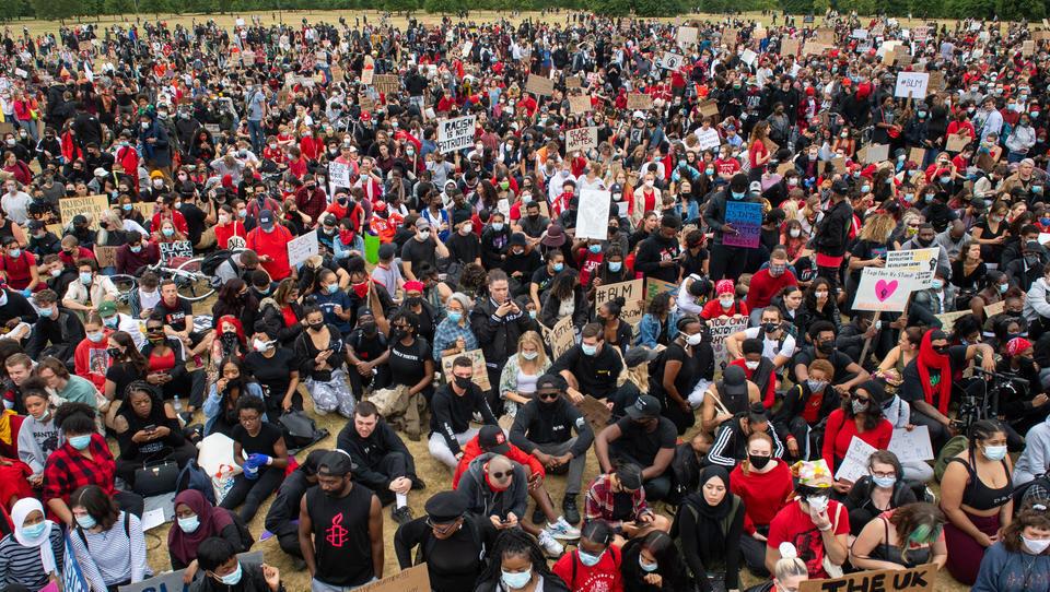London, Paris, Athen: In Europa brechen Anti-Rassismus-Proteste aus