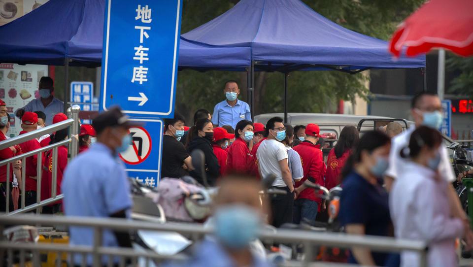 Zweite Welle droht: Corona-Ausbruch auf Großmarkt in Peking