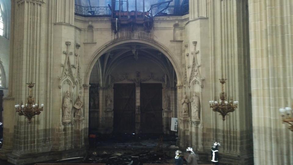 Brand in Kathedrale von Nantes: Tatverdächtiger Flüchtling ist unschuldig