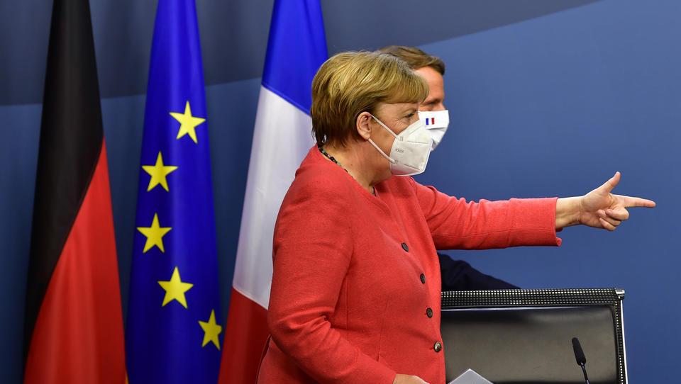 """Für Macron: Merkel beschließt """"Kriegs-Kurs"""" gegen die Türkei in Libyen"""