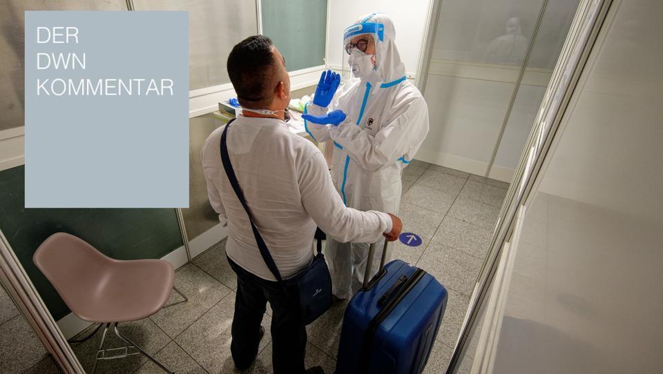 Corona-Zwangstests für Reisende: Die Bundesregierung ist feige