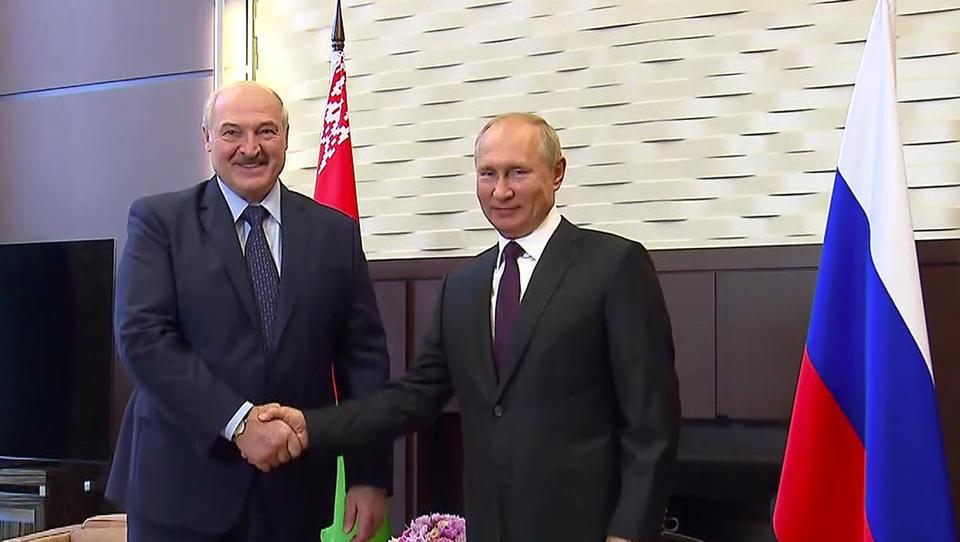 Weißrussland bittet Russland um Waffenlieferungen