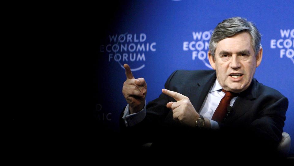 """Britischer Ex-Premier Brown forderte eine """"temporäre Weltregierung"""""""
