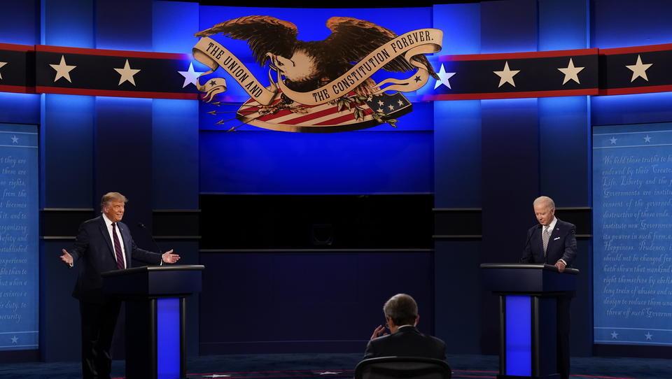US-Wahlkampf: Erstes TV-Duell zwischen Trump und Biden verläuft chaotisch, Märkte werden nervös