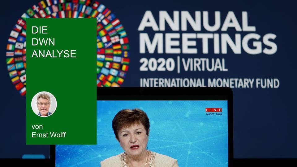 Der IWF plant die Einführung eines neuen Geldsystems