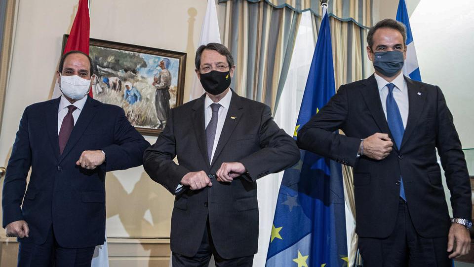 Ägypten, Zypern und Griechenland bauen Sicherheits-Kooperation weiter aus