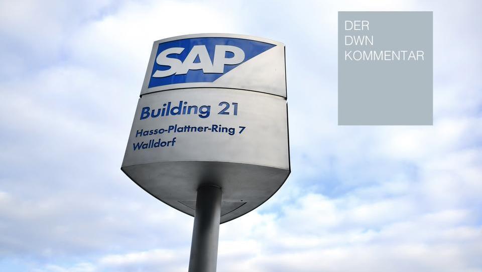 Unkritischer Umgang der Analysten mit SAP lässt die Börse einbrechen
