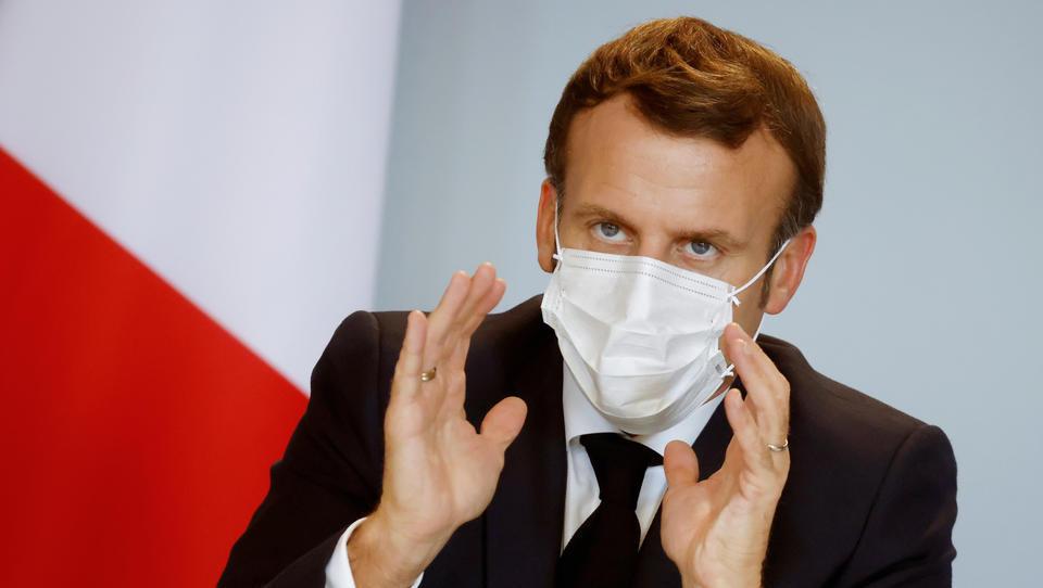 Macron will Filmen von Polizisten mit Haft und 45.000 Euro Geldstrafe ahnden
