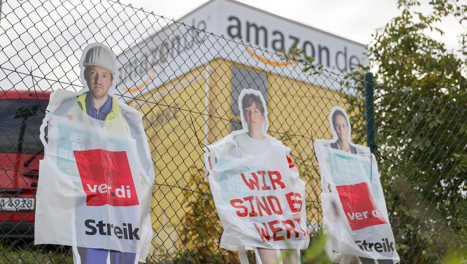 """Schnäppchen-Event """"Black Week"""": Eine schwarze Woche für Amazon-Angestellte"""