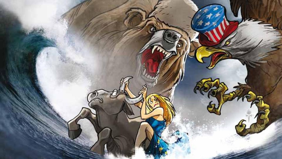 Die EU legt sich auf dem Balkan mit Russland und den USA an