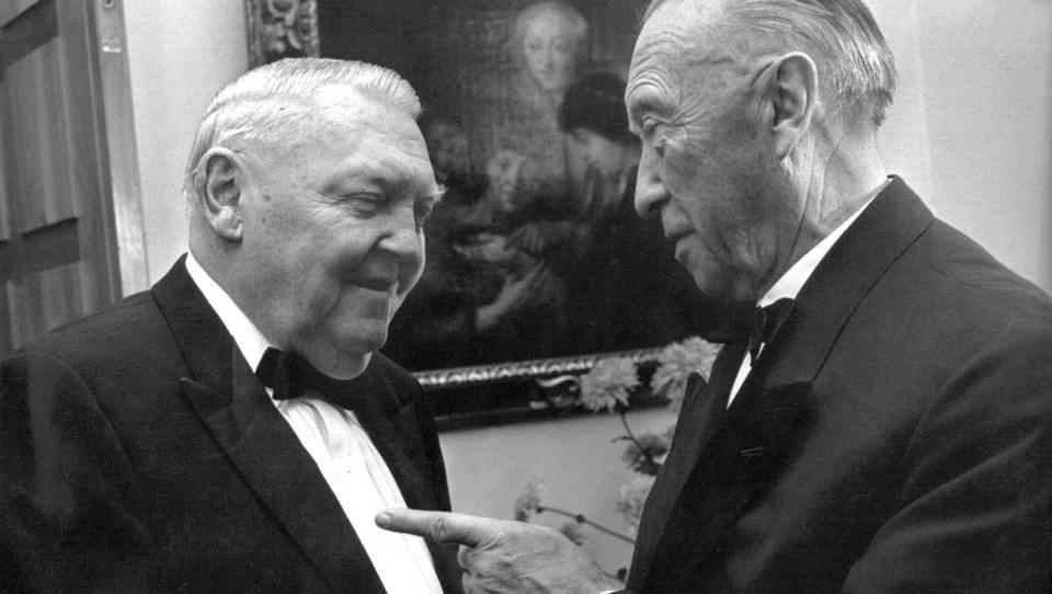 Wie bei Adenauer und Erhard: Linke fordern Sonder-Abgabe für Reiche