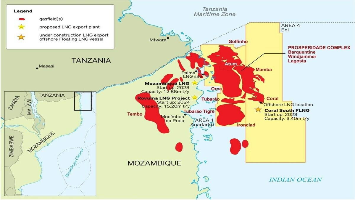 Erdgas und Mord: Konflikt in Mosambik löst Flüchtlings-Krise aus, Total hatte zuvor Operationen gestoppt