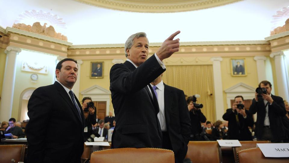 Asset-Umschichtung bei JPMorgan zwingt Federal Reserve zu Rettungsmaßnahmen
