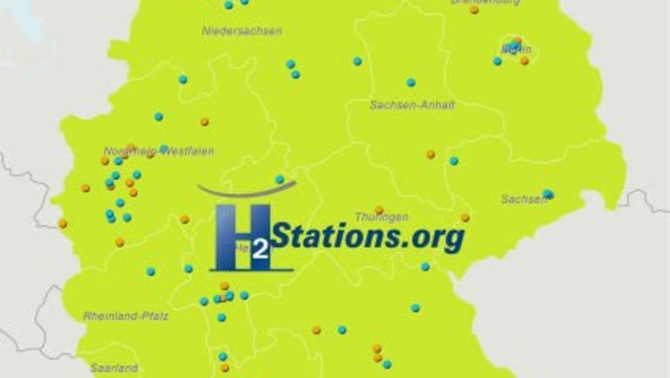 Deutschland bei Wasserstoff-Tankstellen weltweit führend