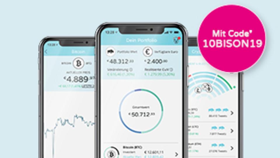 Jetzt downloaden und 10€ Vorteil nutzen: Mit Krypto-App Geld verdienen