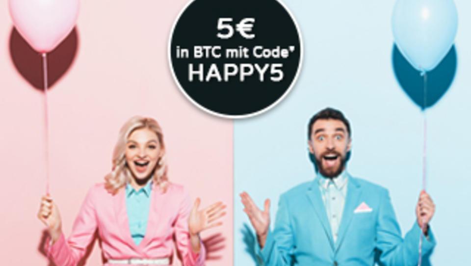 Jetzt downloaden und DWN unterstützen: 5€ in Bitcoin erhalten