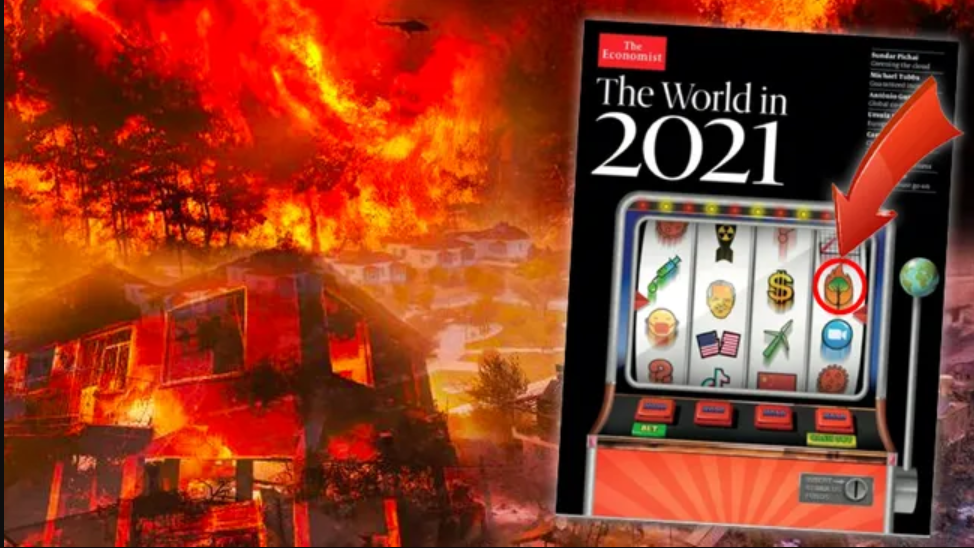"""Die Zeitschrift """"The Economist"""" hatte 2020 massive Waldbrände """"prognostiziert"""""""