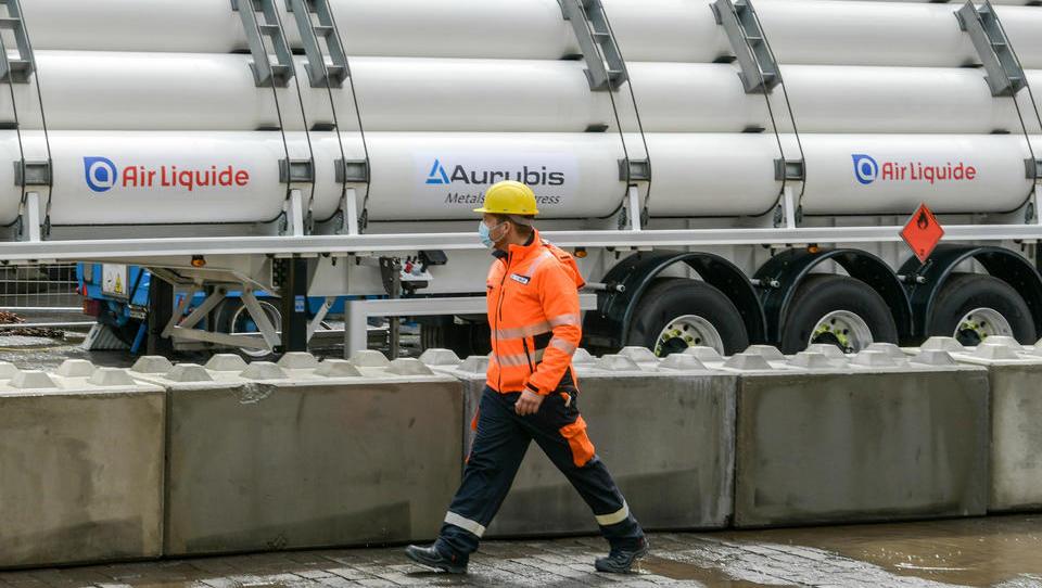 Nicht-Eisen-Metall-Hersteller Aurubis bringt Wasserstoff in der deutschen Industrie voran