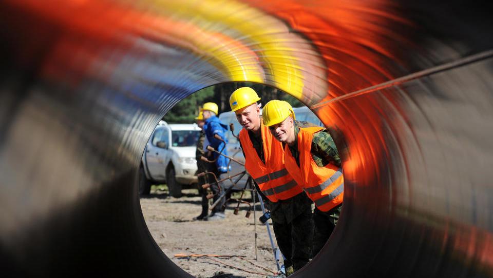 Gazprom muss Gasmengen auf ostdeutscher Pipeline Opal runterfahren