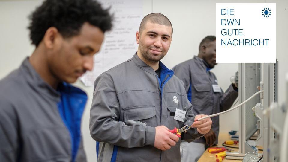 Anzahl der Beschäftigen, Azubis und Studenten mit Flüchtlingshintergrund steigt rasant an