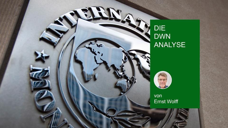 Letzter Verzweiflungsakt? IWF pumpt größte Geldsumme seiner Geschichte ins Finanzsystem