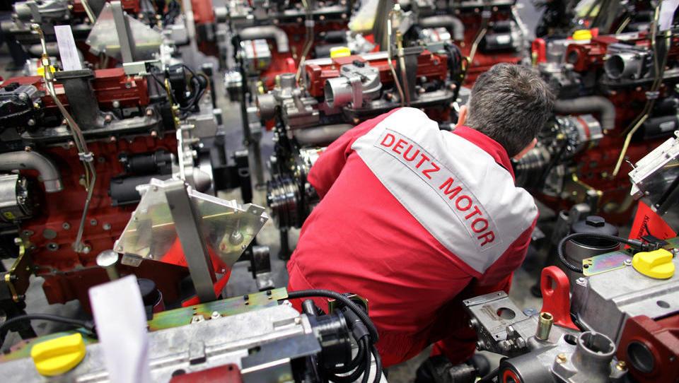 Deutz bringt seinen ersten Wasserstoff-Motor an den Markt - und erhöht Auftragseingang um 65 Prozent