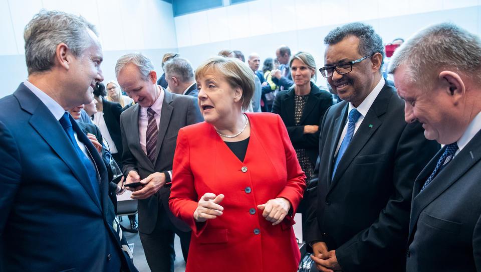 2019: CDU veranstaltet Gesundheitskongress – Merkel, Gates-Stiftung, Spahn, Drosten und WHO-Chef sind dabei