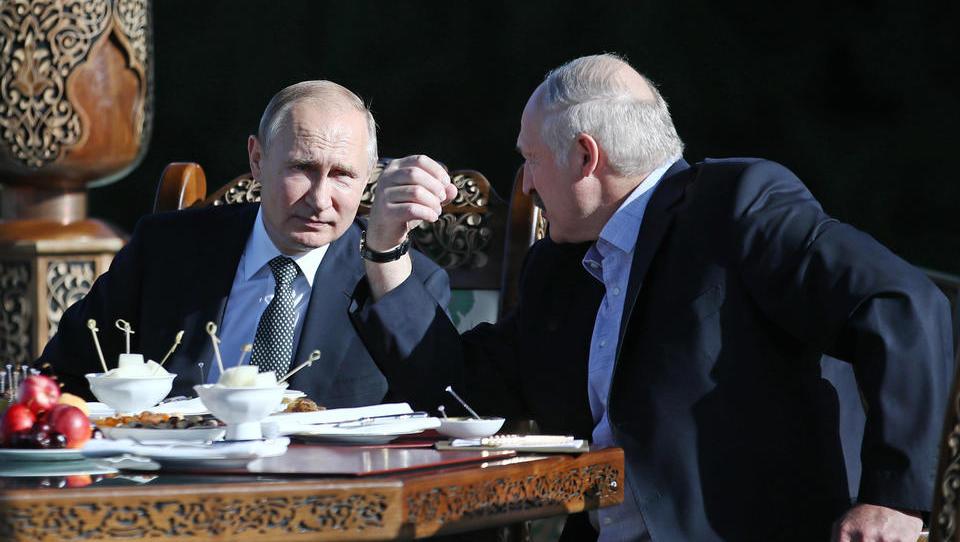 Russland und Belarus halten im September gemeinsames Manöver ab