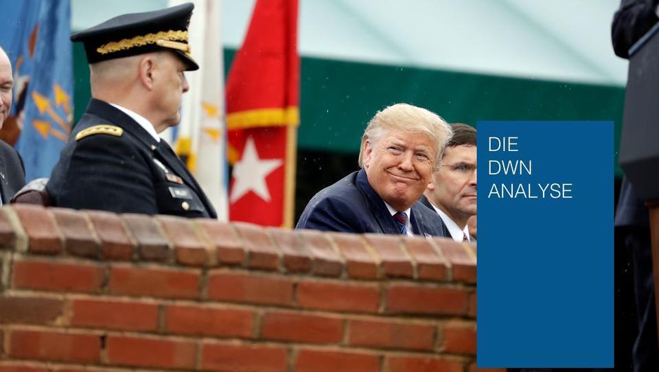 Als Oberbefehlshaber kann Trump das Militär einsetzen - aber die Generäle werden ihm nicht folgen