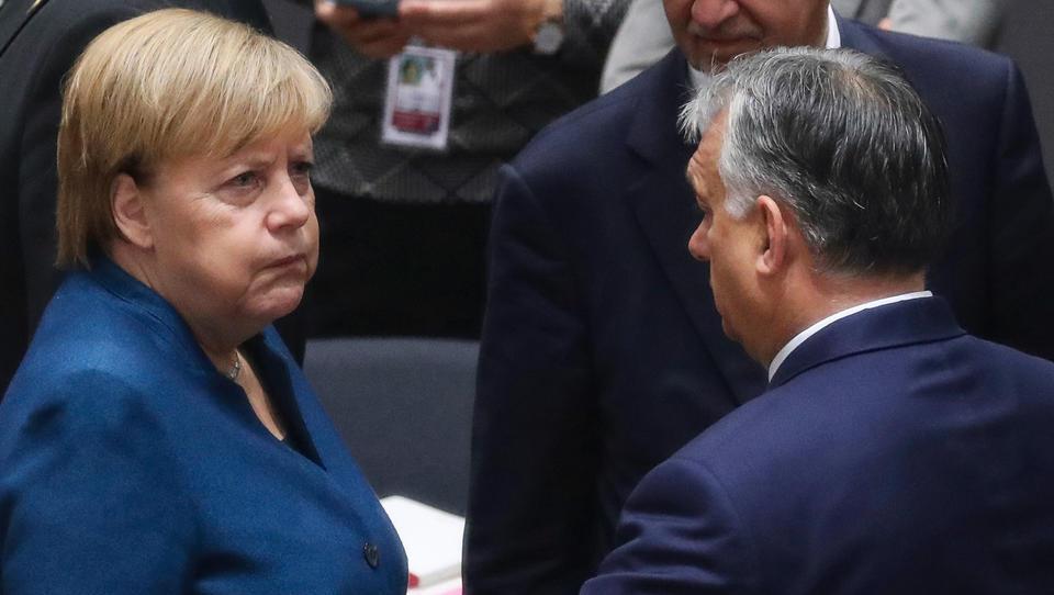 EU-Finanz-Streit: Merkel gibt Ungarn und Polen keine Chance