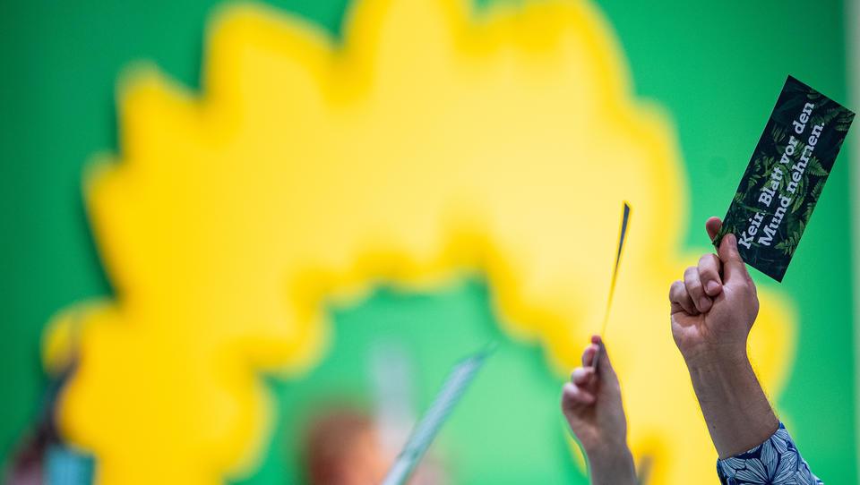 """Mitglieder der Grünen wollen """"Deutschland"""" aus Wahlprogramm-Titel streichen"""