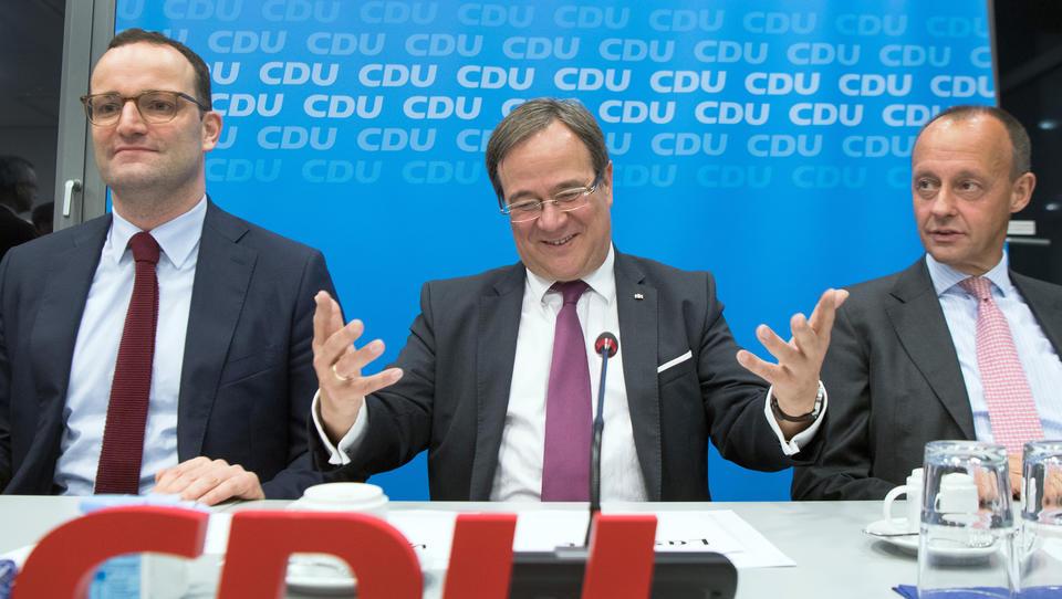 Wer sich zuerst impfen lässt, sollte mit dem CDU-Vorsitz belohnt werden