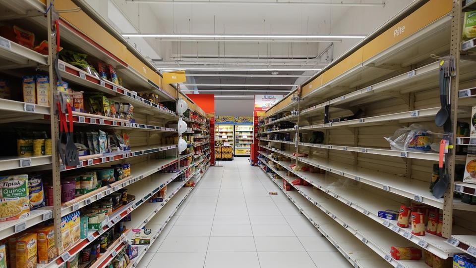 Ernste Lage: Versorgungsengpass bei Lebensmitteln und Rohstoffen droht