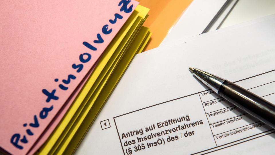 Sprunghafter Anstieg der Privatpleiten in Deutschland