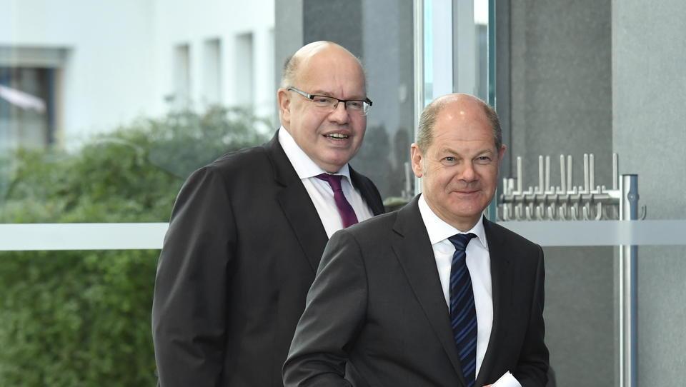 Finanzminister Scholz und Wirtschaftsminister Altmaier lassen den Mittelstand im Regen stehen