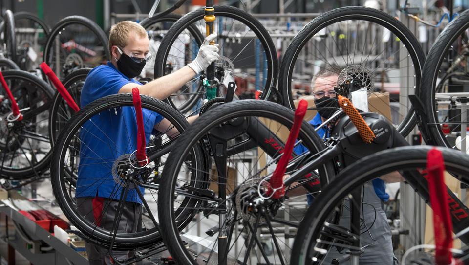 Deutsche Fahrrad-Industrie: Europäischer Marktführer auf wackeligem Untergrund