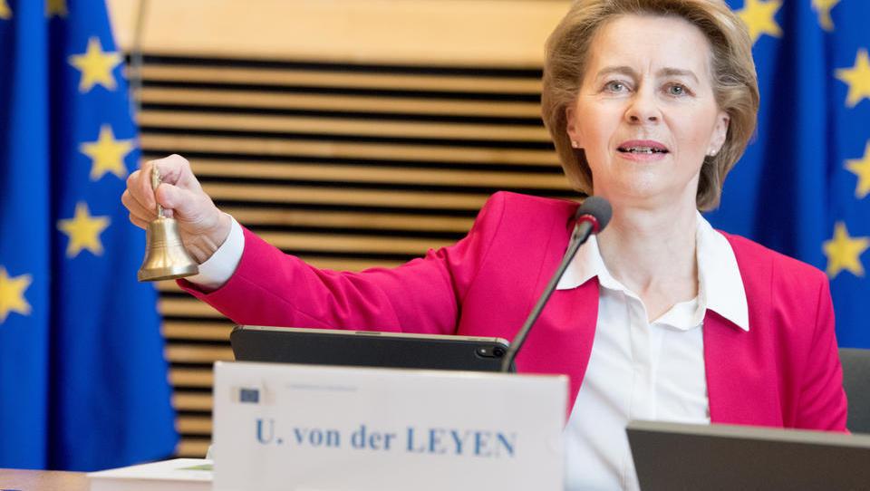Ursula von der Leyens Plan für EU-Bargeld-Limit sorgt für Protest in Deutschland